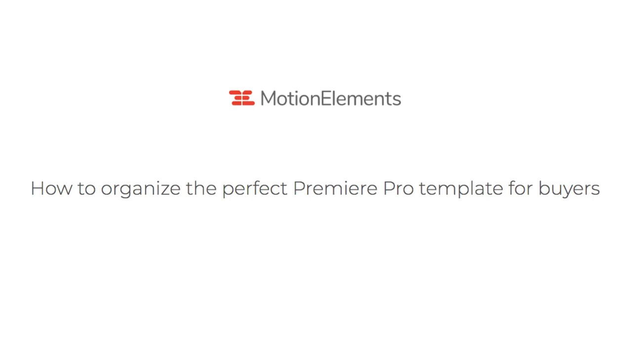 Guide for selling Premiere Pro template – Artists Support