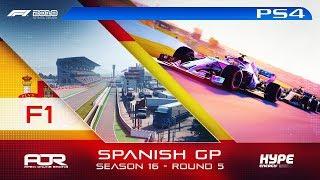 F1 2018 | AOR Hype Energy F1 League | PS4 | S16 | R5: Spanish GP