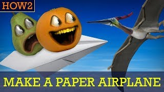 how2 how to make a paper airplane