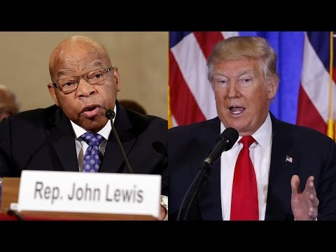 Trump Attacks Civil Rights Icon John Lewis on MLK Weekend; Watch Lewis Recall Bloody Sunday 1965