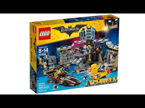 LEGO Batman Movie 70909 BATCAVE BREAK-IN Building Instructions ...
