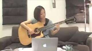 2013.7.7 森恵さんのデビュー3周年記念 USTREAMライブより 〜12弦ギター...