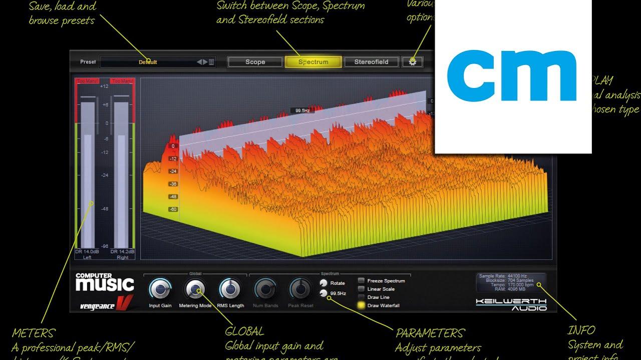 FREE PC/Mac analyser plugin: Vengeance-Sound Scope   MusicRadar