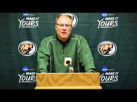 Bemidji State Football Media Day (Nov. 12, 2015)