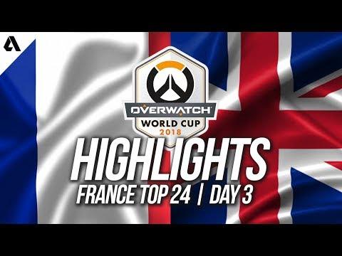 France vs United Kingdom   Overwatch World Cup 2018 Paris Qualifier Day 3