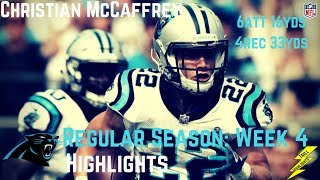 Christian McCaffrey Week 4 Regular Season Highlights | 10/01/2017