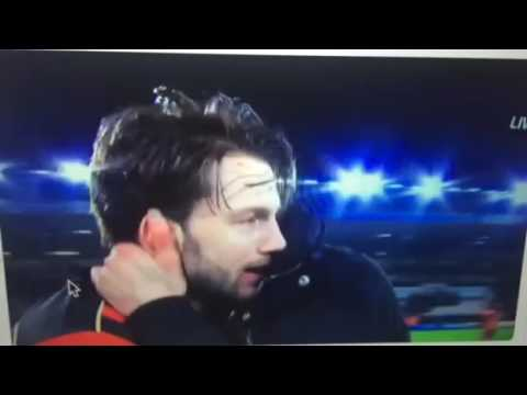 Pep Guardiola has a classy talk with Harry Arter