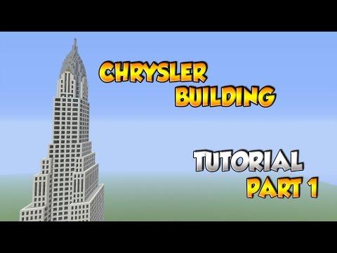 Minecraft Chrysler Building Tutorial Part 1