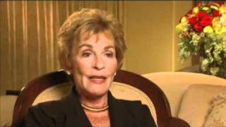 "Judith Sheindlin discusses her first appearance on ""60 Minutes"" -EMMYTVLEGENDS.ORG"