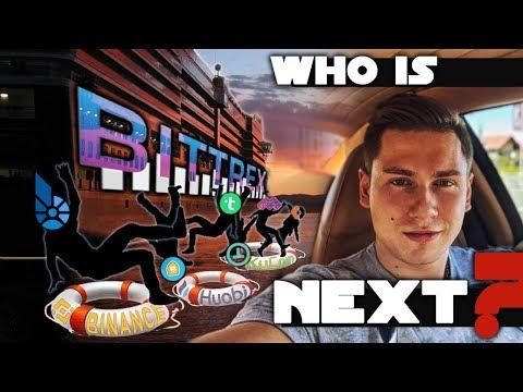 Массовый делистинг с крипто биржи Bittrex