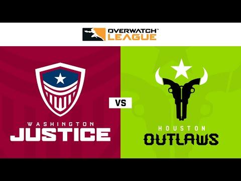 Houston Outlaws vs Washington Justice vod