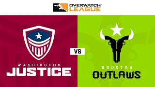 Washington Justice vs Houston Outlaws | Hosted by Philadelphia Fusion | Day 2
