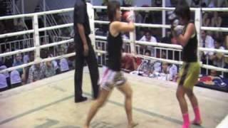 Nicole (Singapore) Sinbi Muay Thai