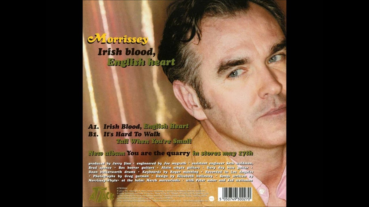 Morrissey – It's Hard to Walk Tall When You're Small Lyrics | Genius