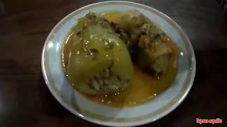 Голубцы в сметанно  томатном соусе