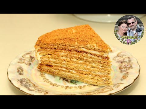 Дамский каприз  ☆более 30 лет. Семейный рецепт ☆ Honey Cake