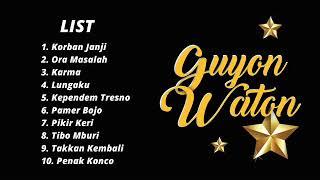 10 Cover GUYON WATON HITS!!
