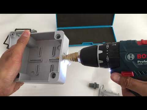 install-outdoor-inline-cable-connector-on-waterproof-junction-box.
