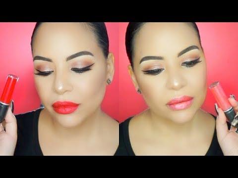 MAC Cosmetics RETRO MATTE LIQUID METALLIC Lipsticks| Swatches