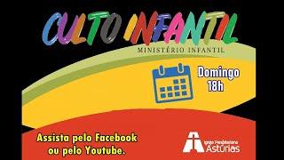 Culto Infantil - 30/08/2020