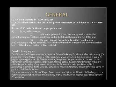 PPL Air Law Lesson 1 Part 1