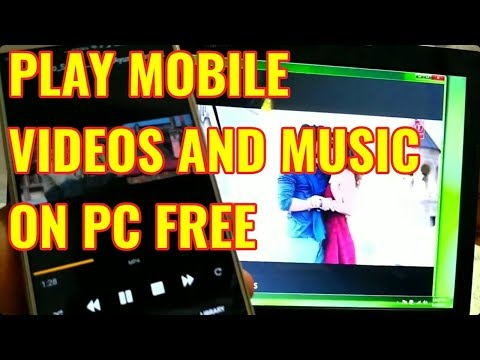 How to Stream Phone Music & Videos On PC Using DLNA | Easy Steps  | Hindi