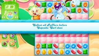 Candy Crush Jelly Saga Level 843 (2nd version, No boosters)
