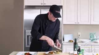 Cooking With Chef Mike - Marinated Chicken Breasts With Grilled Vegetables