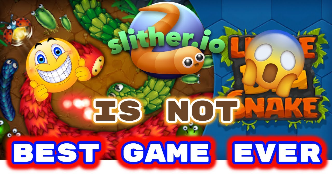 TOP 5 GAMES WHICH IS MORE OP THAN SILTHER.IO\\GAMES LIKE SLITHER .IO