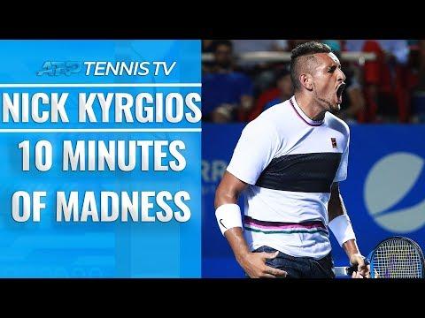 10 Minutes of Nick Kyrgios MADNESS