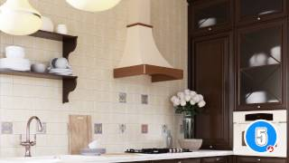 Кухонная вытяжка ELEYUS PIANO LED SMD - видео обзор рустикальной вытяжки