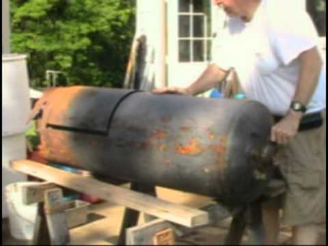 Wood Stove From A Hot Water Heater Youtube