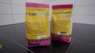 Servoperl ROYAL / Servoperl ROYAL Schnell - použití a nanášení