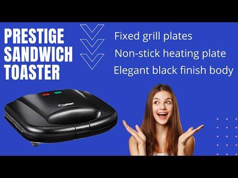 Prestige Sandwich Maker - Sandwich Making In 5 Mins. आइए सैंडविच बना कर देखें L