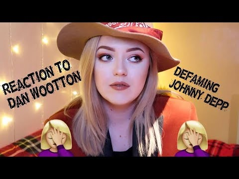 Response to Dan Wootton's defamatory article against Johnny Depp for 'The Sun'