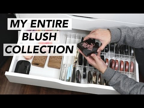 MY BLUSH COLLECTION | Drugstore + High End