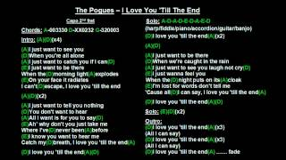 The Pogues - I Love You