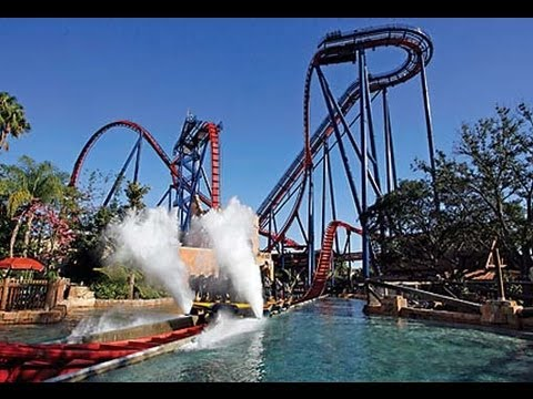 Busch Gardens Tampa Complete Walk Through and Tour HD Florida