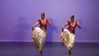 Gama Austin 2009 Christmas Udurajamukhi dance by Sareene & Deepa.avi