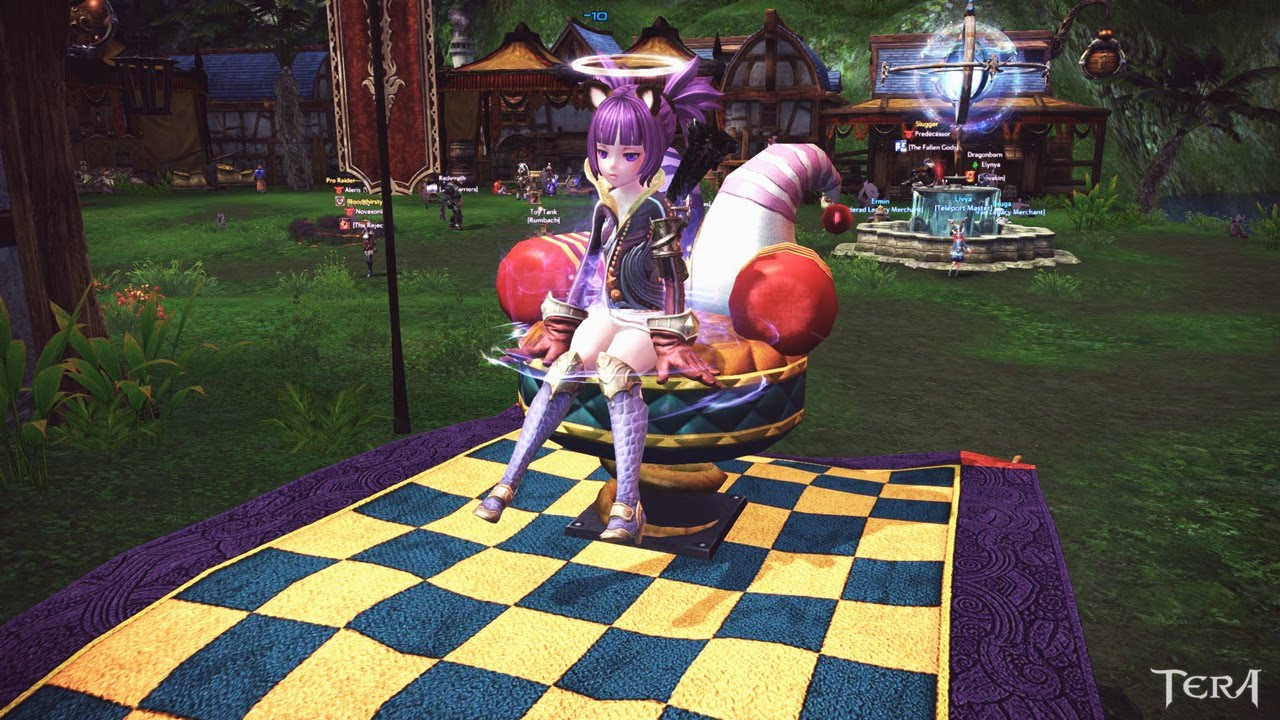 Tera How To Get The Free Festival Of The Sun Carpet Mount