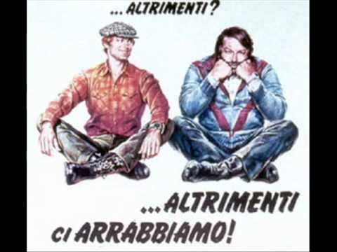 il coro dei pompieri-Fireman choir Bud Spencer and Terence Hill