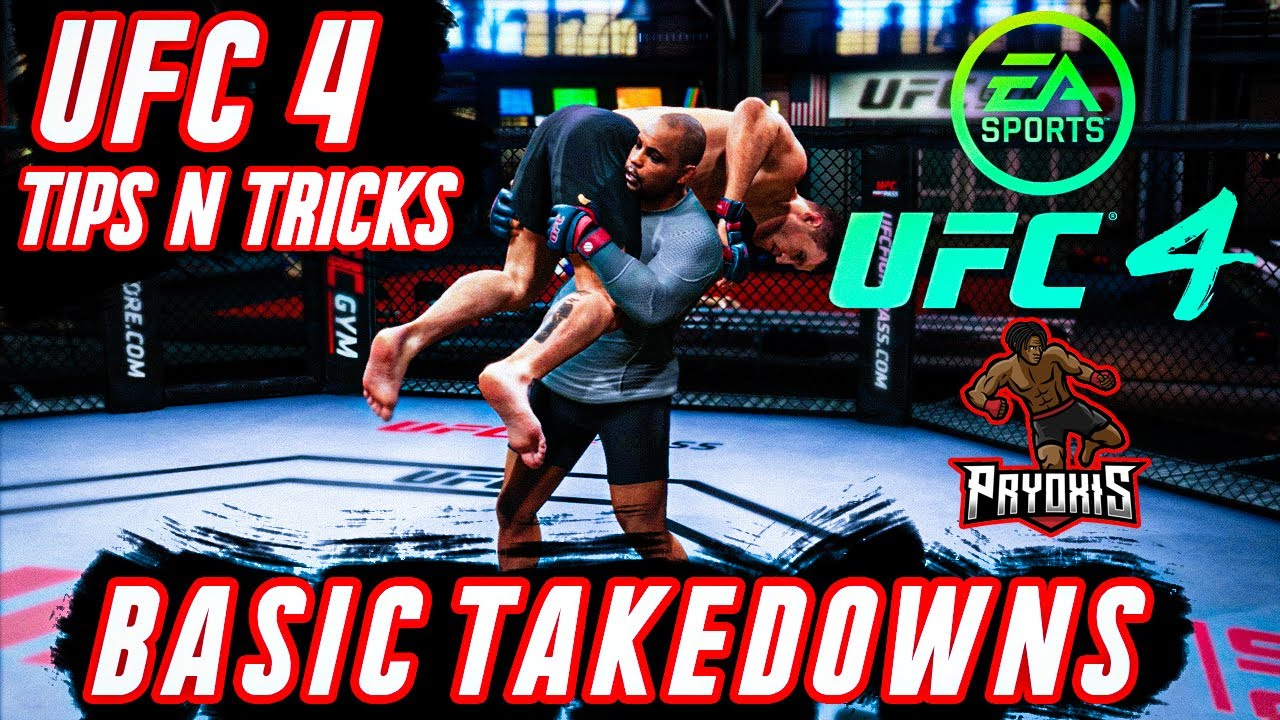 Ufc 4 How To Do Takedowns And Defend Against Them Game Rant
