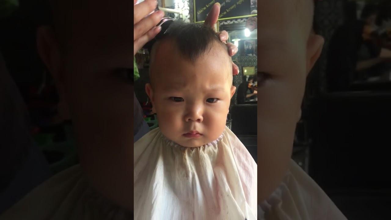 hướng dẫn tự cắt tóc cho bé bằng tông đơ - đẹp mắt mà lại dễ cắt - tông đơ  cắt tóc trẻ em - YouTube
