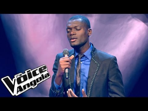 "Alfredo Yungi - ""Let it be"" / The Voice Angola 2015: Audição Cega"