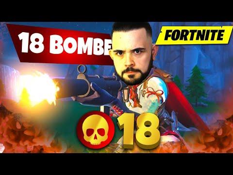 Fortnite : Vicino al Mio record di Kill , 18 Bombe ... Bello Bello 😱