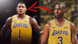THE LOS ANGELES LAKERS ARE TRADING FOR BRADLEY BEAL & CHRIS PAUL? Anthony Davis to Resign! (Rumor)