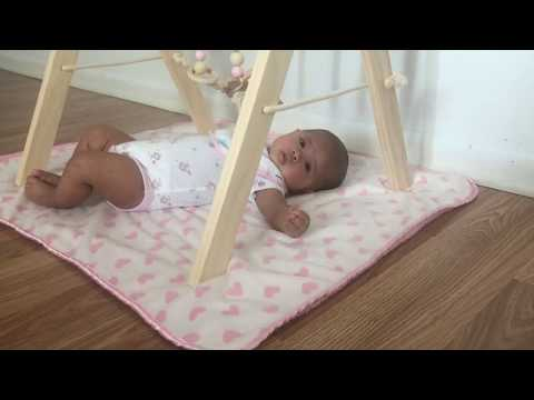 Baby Wooden Play Gym