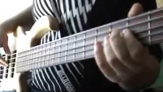 elrick 5 strings gold standard bass guitar