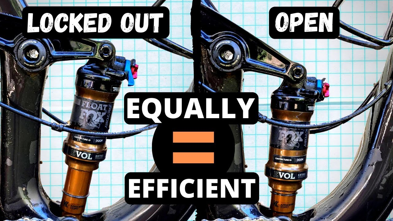 Does Locking Out Your Suspension Actually Make Your Bike More Efficient? The Science