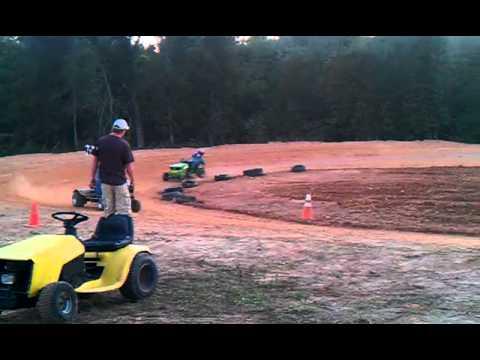 Marshall ar lawn mower racing.. Sodzilla